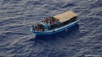 قایق مهاجران غیر قانونی در دریای مدیترانه غرق شد