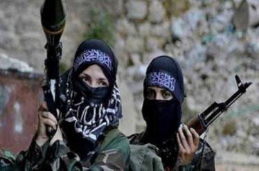 شرایط زنان در گردان های زنانه داعش