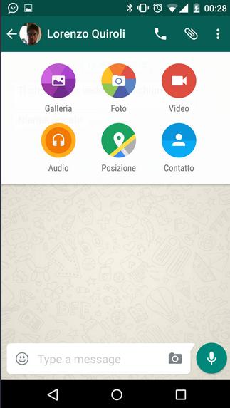 واتساپ با زبان طراحی متریال آمد
