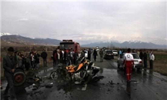 عکس تصادف مرگبار عکس تصادف تصادف وحشتناک در ایران تصادف داخراش اخبار تصادف