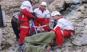 کوهنورد 33 ساله از بیستون سقوط کرد