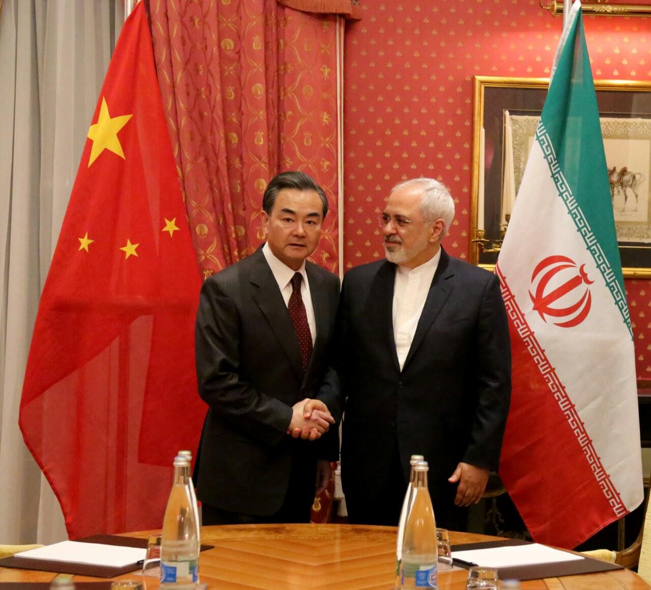 رایزنی وزرای امورخارجه ایران و چین پایان یافت + تصاویر