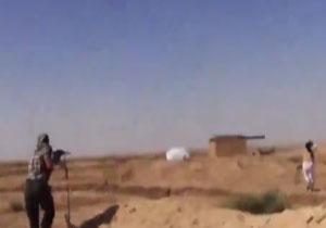 به هلاکت رسیدن فیلمبردار داعش به همراه فیلم (18+)