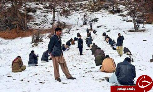 برگزاری عجیب ترین کنکور درافغانستان+تصاویر