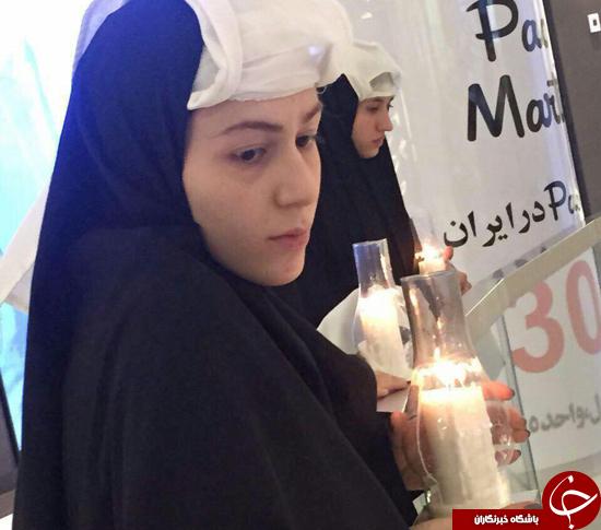 نوسالژی طهران قدیم در چهره دختران تهران+تصاویر