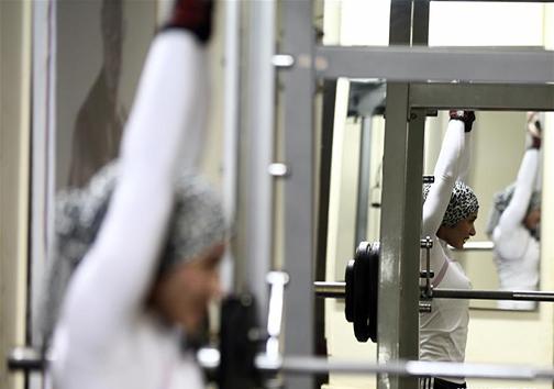 زن آهنی؛ نخستین زن مسلمان و بدنساز مصری + تصاویر