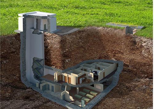 گرانترین خانهی لوکسِ ضد انفجار هستهای در آمریکا + تصاویر