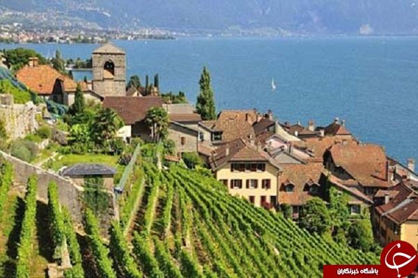 دریاچه ژنو سوئیس + عکس