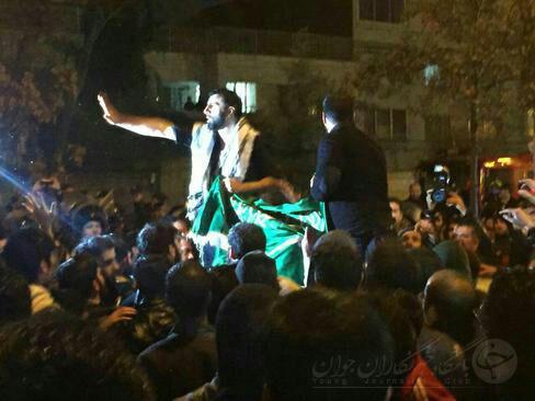 کنسولگری عربستان در مشهد به آتش کشیده شد + فیلم