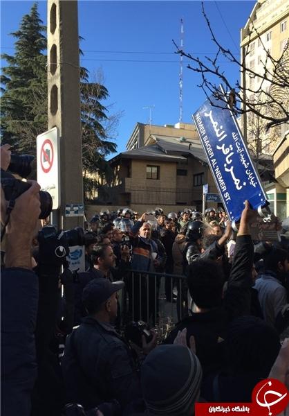 نامگذاری خیابانی بهنام آیت الله نمر در تهران/ خیابان سفارت عربستان تغییر نام دهد+عکس