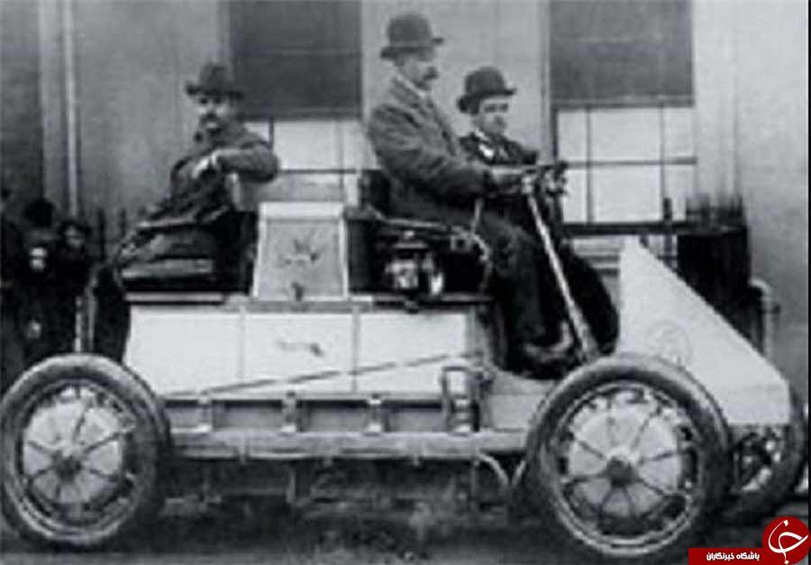 اولین عکس منتشر شده از خودرو دوگانه سوز پورشه