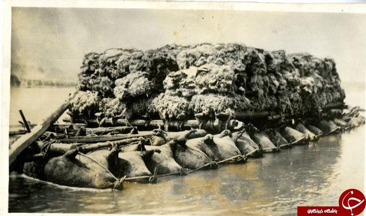 قایق های بادی ساخته شده از پوست گاو