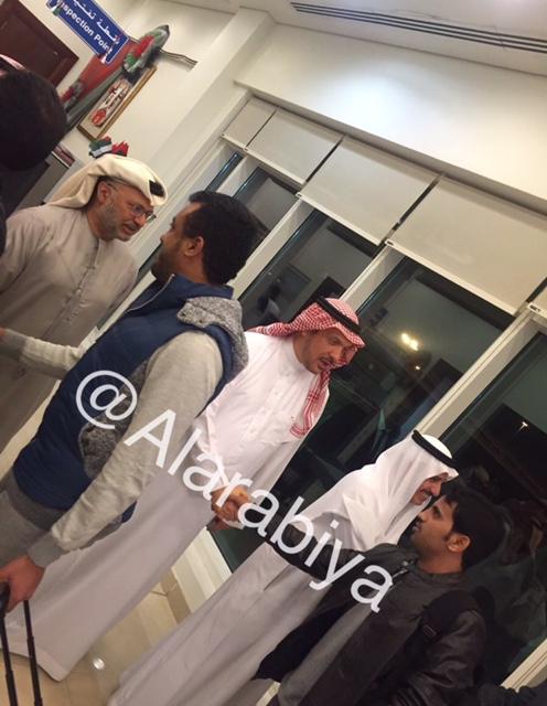 العربیه: ورود هیئت دیپلماتیک عربستان به دبی+تصاویر