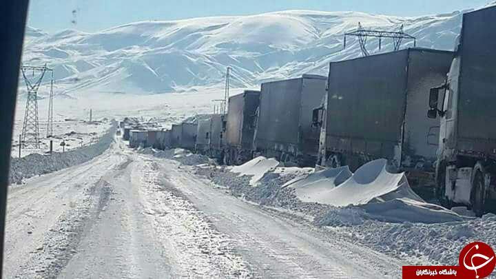 مرز بازرگان گمرک بازرگان صادرات به ترکیه ایران و ترکیه