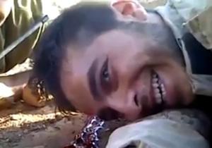 لبخند شهید مدافع حرم در حین شهادت+فیلم و تصویر