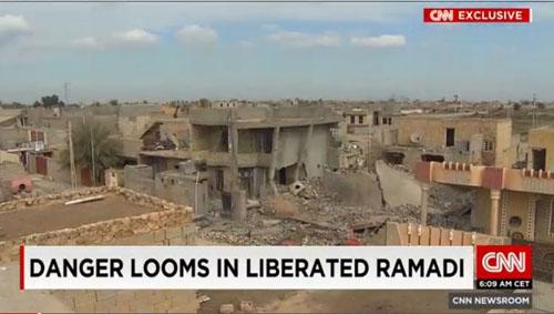 شهر زیرزمینی داعش در رمادی+ تصاویر