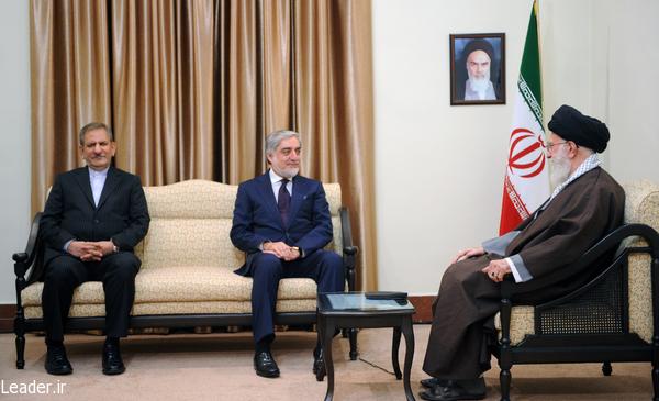بیانات رهبر معظم انقلاب اسلامی در دیدار رییس اجرایی دولت افغانستان