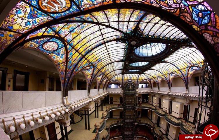 با زیبا ترین سقف های جهان آشنا شوید
