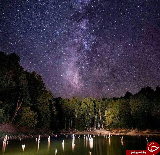 دریاچه ناشناخته در ساری /چورت ساری چیست؟/+عکس