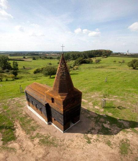 شفاف ترین کلیسای جهان +تصاویر!