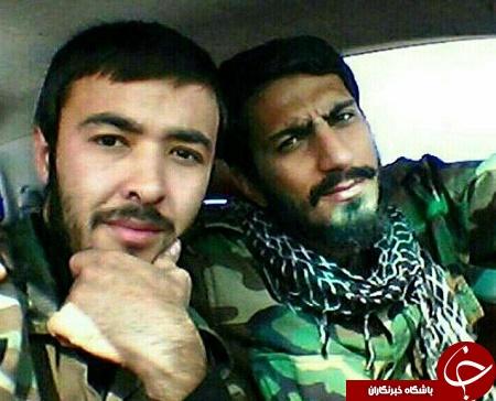 سلفی دو شهید مدافع حرم+ عکس