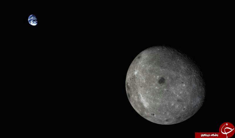 راز شگفت انگیزجاذبه ماه و چرخش زمین +عکس