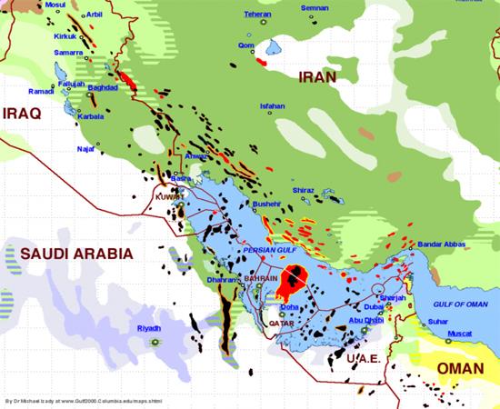 نقشهای که درگیری خطرناک عربستان و ایران را توضیح میدهد +تصویر