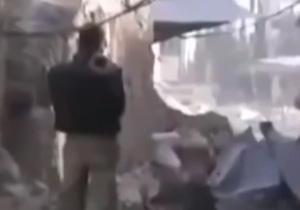 فیلم حرکات ابلهانه داعشیها در میدانهای جنگ