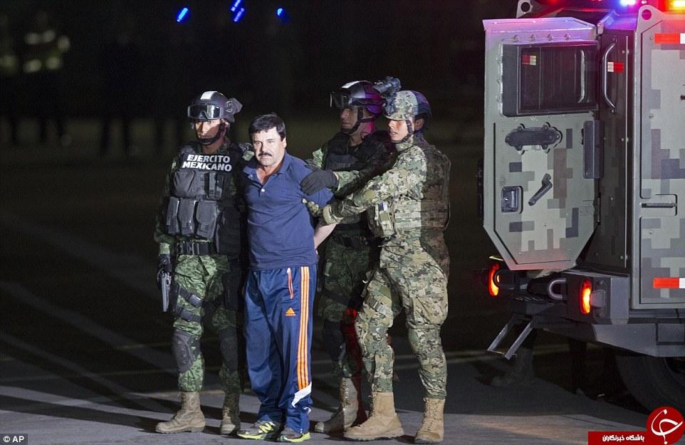 جدیدترین تصاویر از دستگیری ال چاپو