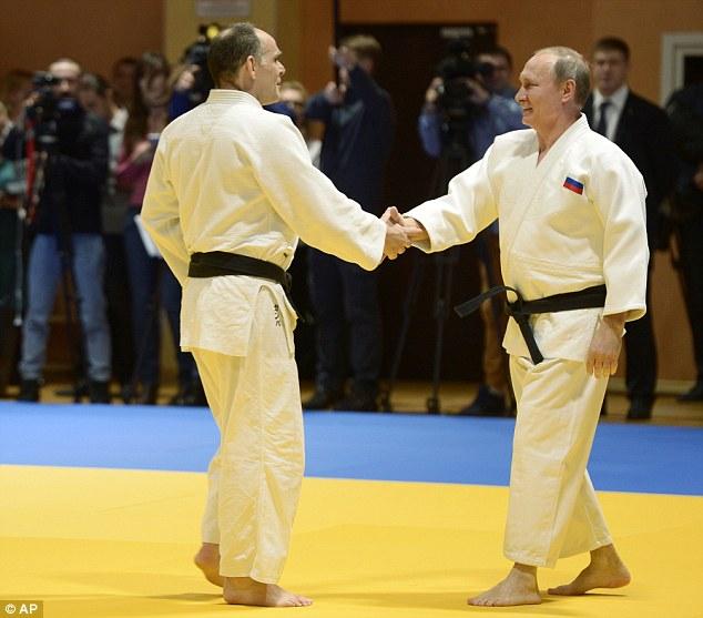 هفتهی ورزشی ولادیمیر پوتین+تصاویر