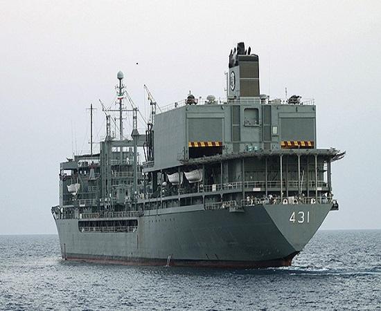 ناو خلیج فارس برادر بزرگ «جماران» آماده سفر میشود +عکس