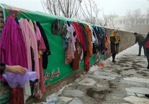 علاقه نشان دادن سی ان ان به دیوار مهربانی ایران  + تصاویر