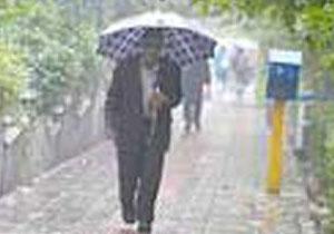 50 میلی متر بارندگی در لنده ثبت شد