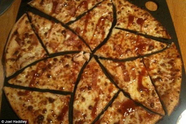 راه حل ریاضی دانان برای تقسیم مساوی پیتزا+ تصاویر