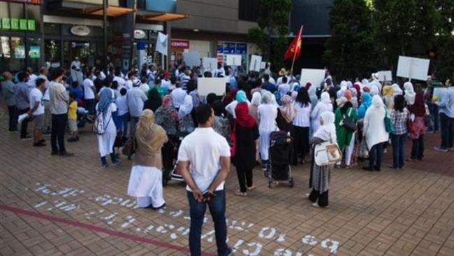 نیوزلندیها خواستار قطع رابطه با عربستان شدند+ تصاویر