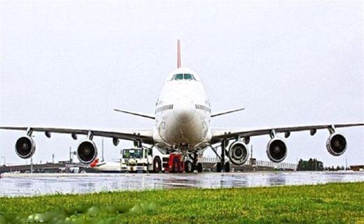 شیوه جالب انتقال موتور هواپیما +تصاویر