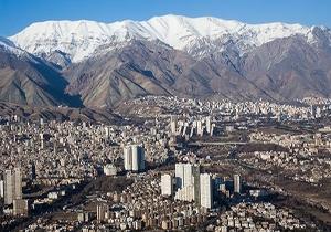 هوای تهران در شرایط سالم است