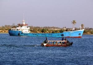 غرق شدن یک کشتی ایرانی در ورودی اروند رود