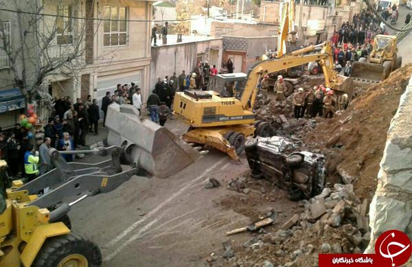 آخرین خبرها از ریزش دیوار بیمارستان مسیح دانشوری/مدیر اسبق تولید شبکه 2 تنها قربانی حادثه