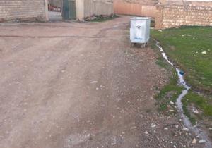 یک سطل زباله سهم این محله از شهرنشینی + فیلم