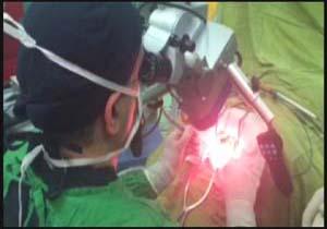 عمل جراحی مننژیوم نخاع گردنی برای نخستین بار در هرمزگان