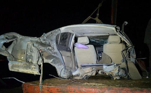 خودرو MVM در تصادف نصف شد! +عکس