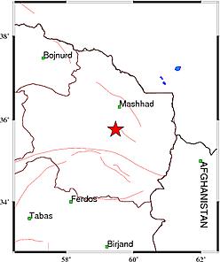 زلزله خراسان رضوی را لرزاند + جزئیات