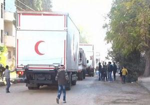 هلال احمر ورود کمکهای انساندوستانه به مضایا را تأیید کرد