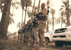 تمرین نظامی داعش در لبنان + فیلم