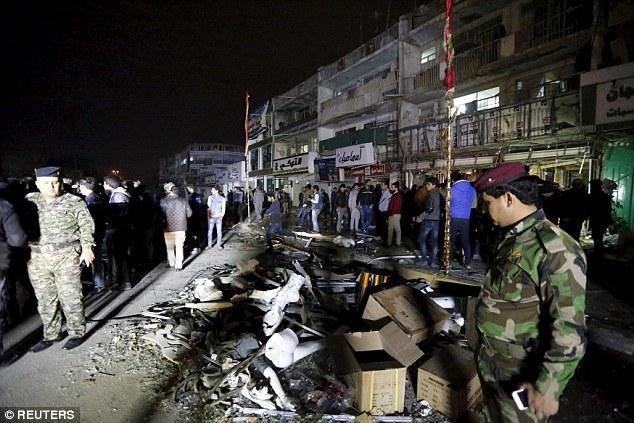 انفجار خونین داعش در بغداد+ تصاویر