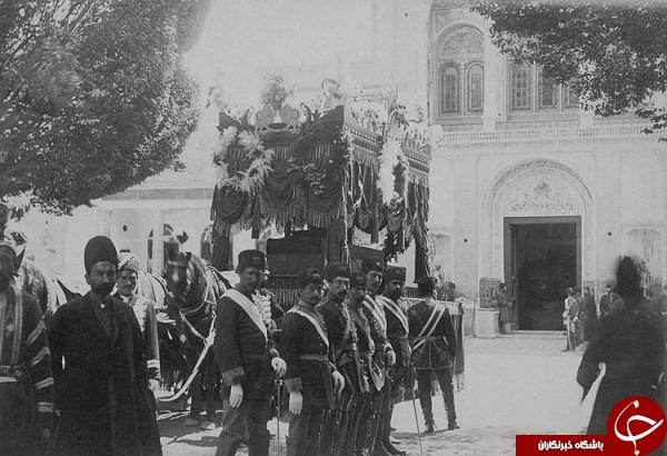 تشییع جنازه و خاکسپاری ناصرالدین شاه +تصاویر