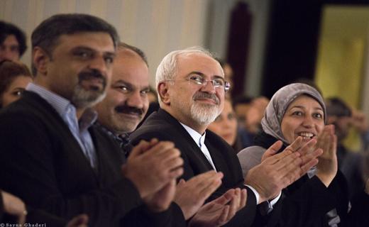 جشن تولد رفیعی با حضوز وزیر امور خارجه/ ظریف: هنر ایرانی بهترین نماینده عظمت ملت ماست