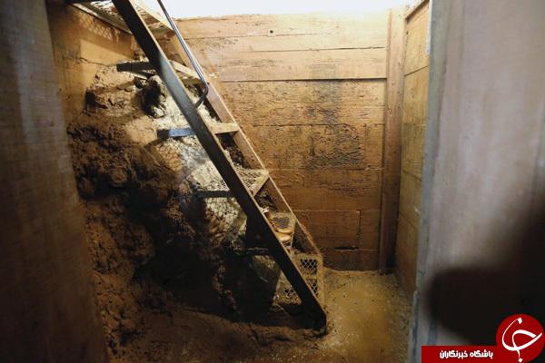 تصاویری از مخفیگاه مخوف پادشاه قاچاق مواد مخدر