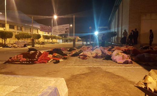 ادامه اعتراض دانشجویان دانشکدههای صنعت نفت + تصاویر
